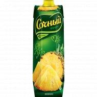 Нектар ананасовый «Сочный» 1 л.
