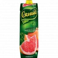 Нектар грейпфрут «Сочный» 1 л.