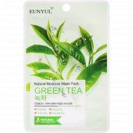 Маска тканевая для лица «Eunyul» с экстрактом зеленого чая, 22 мл.