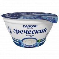 Йогурт «Греческий» черника, 3.4 %, 130 г.