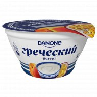 Йогурт «Греческий» персик-маракуйя, 3.4 %, 130 г.