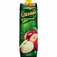 Нектар «Сочный фрукт» яблочный, 1 л.