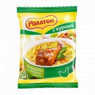 Вермишель «Роллтон» со вкусом курицы 60 г.