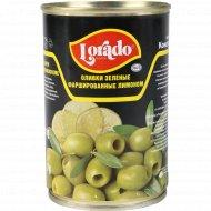 Оливки зеленые «Lorado» фаршированные лимоном, 300 г.