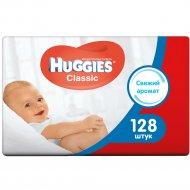 Влажные салфетки детские «Huggies Classic» многослойные 128 шт.