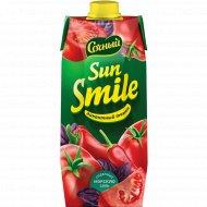 Напиток сокосодержащий «Sun Smile» пикантный томат, 0.75 л.