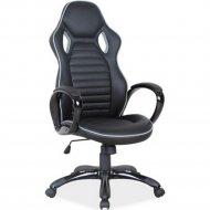 Кресло компьютерное «Signal» Q-105, Черно-Серый