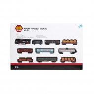 Набор игровой «Big Motors» Железная дорога, 9 вагонов