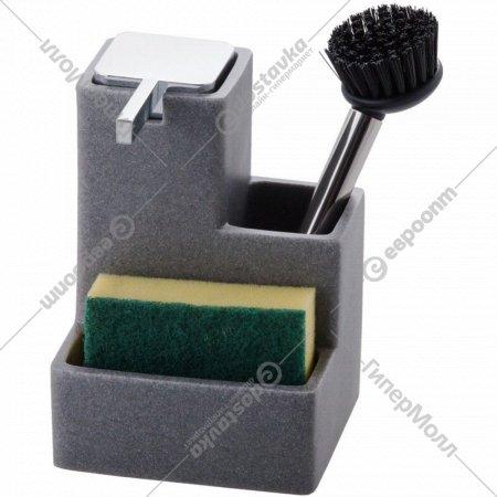Дозатор для мыла с губкой и щеткой «Home&You» 38146-SZA-DOZ