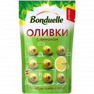 Оливки «Bonduelle» с лимоном, 70 г.