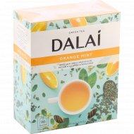 Чай зеленый «Dalai» с мелиссой, мятой и цедрой апельсина, 90 пакетов.