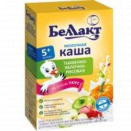 Каша молочная «Беллакт» тыквенно-яблочно-рисовая, 250 г.