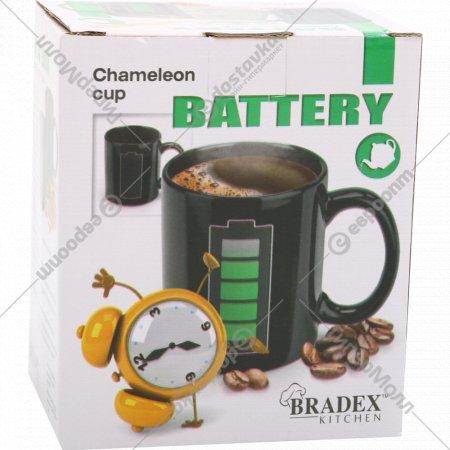 Кружка-хамелеон «Батарейка».