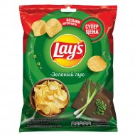 Чипсы «LAY'S» молодой зеленый лук, 50г.
