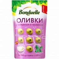Оливки «Bonduelle» с чесноком и тимьяном, 70 г.
