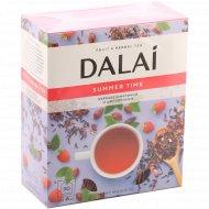 Чайный напиток «Dalai» каркаде-шиповник-малина, 90 пакетов.
