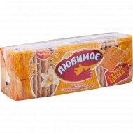 Печенье сахарное «Любимое» со вкусом ванили, 347 г