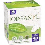 Прокладки «Organyc» с крылышками ночные, ультратонкие, 10 шт