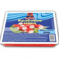 Крабовое мясо «Esva» имитация из сурими, замороженное, 200 г.