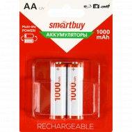 Аккумулятор «Smartbuy» AA/2BL, 1000 mA/h.