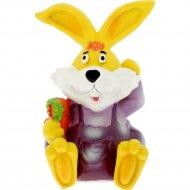 Копилка пластмассовая «Belbohemia» кролик с марковкой, 10818838