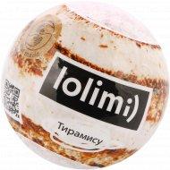 Бомба для ванн «Lolimi» тирамису, 125 г.