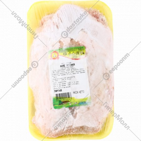 Филе утенка «Коскро» замороженное, 1 кг., фасовка 1-1.2 кг