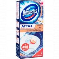 Стикер «Domestos» «Attax» тропическая свежесть 3 Х 10 г.