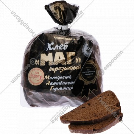 Хлеб «Маг» нарезанный 350 г.