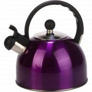 Чайник со свистком из нержавеющей стали 2.2 л.