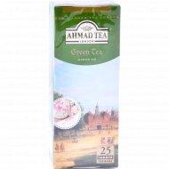 Чай зелёный «Аhmad Tea» 25 пакетиков.