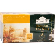 Чай черный «Ahmad Tea» 40 пакетиков.