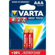 Элемент питания «Varta» Max Tech LR03, 2 шт.
