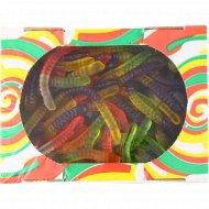 Мармелад жевательный «Фруктовые фигурки» червяки, 1 кг.