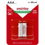 Аккумулятор «Smartbuy» AAA/2BL 600mAh.