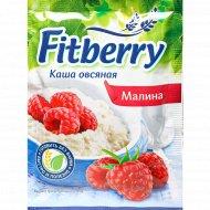 Каша овсяная «Fitberry» с малиной, 35 г.