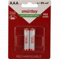 Аккумулятор «Smartbuy» AAA/2BL 800mAh.