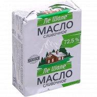 Масло сливочное «Ле Шале» крестьянское, 72.5%, 180 г.