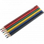 Набор цветных карандашей «Schoolformat» 6 цветов.