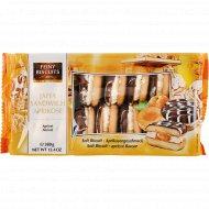 Печенье «Feiny Biscuits» со вкусом абрикоса и клубники, 380 г.