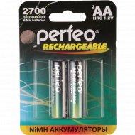 Аккумулятор «Perfeo» AA27000mAh/2BL, 1.2В.