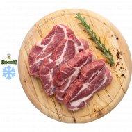 Полуфабрикат стейк из свинины замороженный, 1/600.