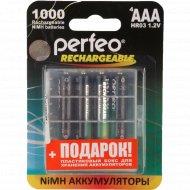 Аккумулятор «Perfeo» AAA1000mAh/4BL+Box.
