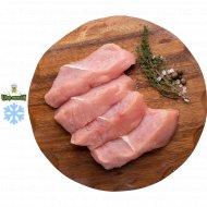 Полуфабрикат стейк из филе индейки замороженный, 1/500.