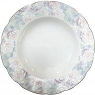 Тарелка суповая «Cmielow» Festone, Акварель, 22.5 см