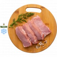 Полуфабрикат эскалоп из свинины замороженный, 1/600.