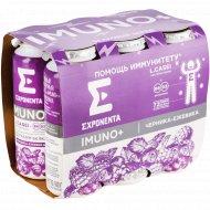 Продукт кисломолочный «Imuno+» черника-ежевика, 6 шт х 100 г.