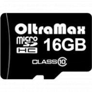 Карта памяти «Oltramax» micro SDHC 16GB Cl.
