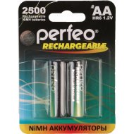 Аккумулятор «Perfeo» AA25000mAh/2BL, 1.2В.