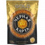 Кофе растворимый «Черная Карта» Gold, 120 г.